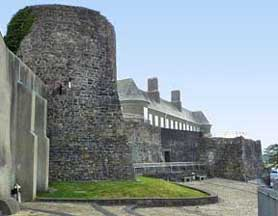 Carmarthen Castle Walls